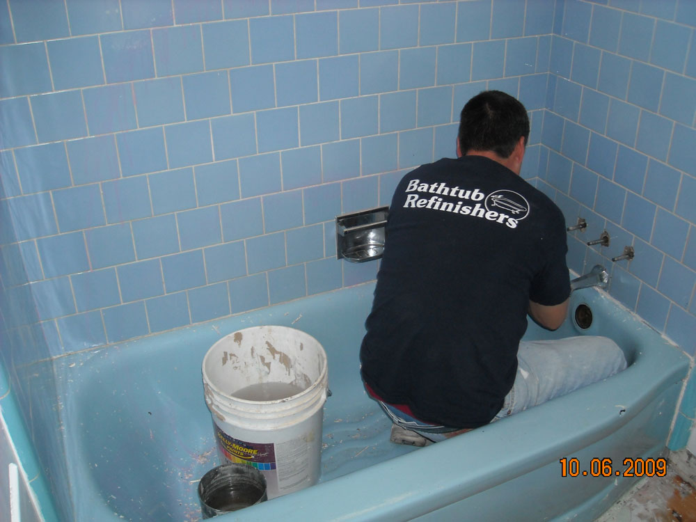 Job Start to Finish - Bathtub Refinishers - Bathtub Refinishers