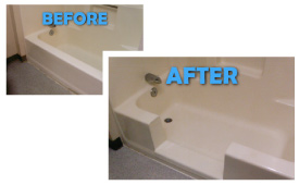 The easy-entry shower conversion - Bathtub Refinishers - Chico, Redding,  and Yuba