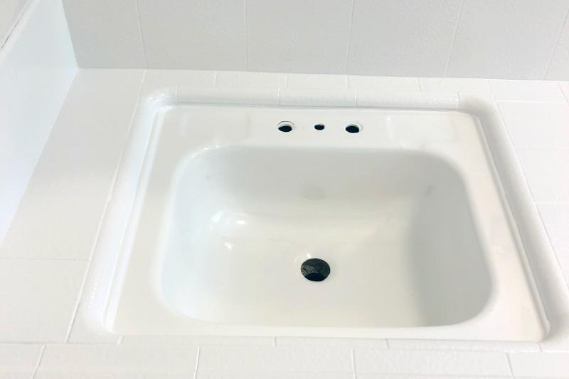 Sink Refinish - After  - Bathtub Refinishers - Chico, CA